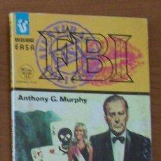 Libros de segunda mano: FBI 398, HORAS TRAGICAS, ANTHONY G. MURPHY, BOLSILIBROS EASA SELECCIONES POLICIACAS. Lote 32860010