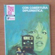 Libros de segunda mano: SERVICIO SECRETO 1743, CON COBERTURA DIPLOMATICA, FRANK CAUDETT, BOLSILIBROS BRUGUERA POLICIACO. Lote 32860166