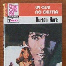 Libros de segunda mano: PUNTO ROJO 1155, LA QUE NO EXISTIA, BURTON HARE, BOLSILIBROS BRUGUERA POLICIACO. Lote 32860260