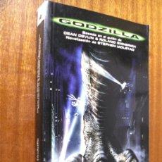 Libros de segunda mano: GODZILLA / STEPHEN MOLSTAD / EDICIONES B 1ª EDICIÓN 1998 BOLSILLO. Lote 106090154