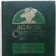 Libros de segunda mano: ÁGATHA CHRISTIE-ORBIS-OBRAS COMPLETAS-LA CASA TORCIDA-TESTÍGO DE CARGO-EL INFERIOR-OTROS RELATOS-87. Lote 170058877