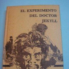 Libros de segunda mano: LIBRO. EL EXPERIMENTO DEL DOCTOR JEKYLL. R. L STEVENSON. EDICIONES RODEGAR. 1968. Lote 34278684