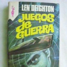 Libros de segunda mano: JUEGOS DE GUERRA. DEIGHTON, LEN. 1977. Lote 34312527