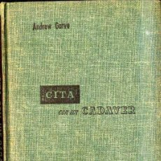 Livros em segunda mão: ANDREW GARVE : CITA CON UN CADAVER (1954) COLECCIÓN LABERINTO. Lote 35037285