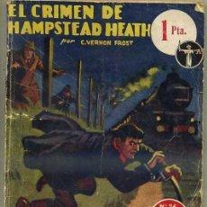 Libros de segunda mano: VERNON FROST : EL CRIMEN DE HAMPSTEAD HEATH (MOLINO, 1938). Lote 35466329