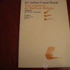 Libros de segunda mano: (543) TRES AVENTURAS DE SHERLOCH HOLMES. Lote 35541110
