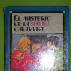 Libros de segunda mano: EL MISTERIO DE LA CALAVERA,STEFAN WOLF;SUSAETA 1987. Lote 12523700