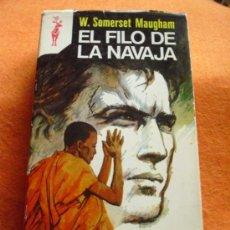 Libros de segunda mano: EL FILO DE LA NAVAJA, SOMERSET MAUGHAM. COLECCIÓN RENO, 1975.. Lote 115215351
