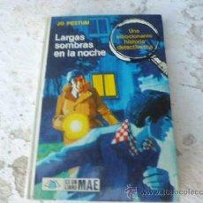 Libros de segunda mano: LIBRO LARGAS SOMBRAS EN LA NOCHE JO PESTUM N-1050. Lote 37228950