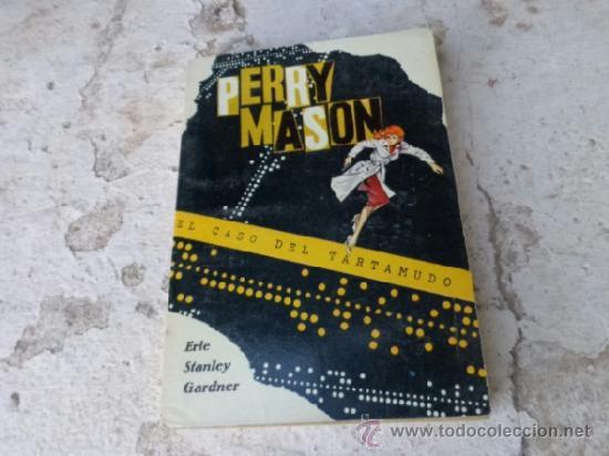 LIBRO PERRY MASON EL CASO DEL TARTAMUDO ERLE STANLEY GARDNER N-1268 (Libros de segunda mano (posteriores a 1936) - Literatura - Narrativa - Terror, Misterio y Policíaco)
