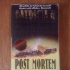 Libros de segunda mano: POST MORTEM, DE PATRICIA CORNWELL. GRIJALBO, 1999. Lote 38637393