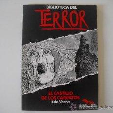 Libros de segunda mano: EL CASTILLO DE LOS CARPATOS. JULIO VERNE. Nº 10.BIBLIOTECA DEL TERROR.EDIC.FORUM 1983.NO BOLSILIBROS. Lote 38894408