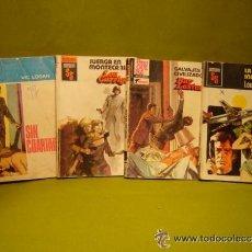 Libros de segunda mano: LOTE DE 4 NOVELAS DE LA COLECCION SERVICIO SECRETO - BOLSILIBROS BRUGUERA. Lote 39152918