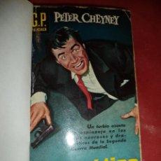 Libros de segunda mano: ENIGMATICO DUETO. PETER CHEYNEY. EDICIONES G. P. BARCELONA. 1960. 159 PÁGS.. Lote 39471175