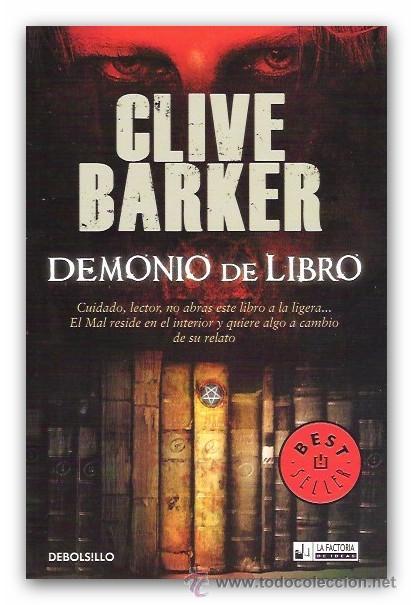Demonio De Libro Clive Barker Debolsillo Ter Sold Through Direct Sale 39638010