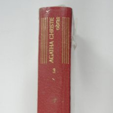 Libros de segunda mano: AGATHA CHRISTIE: OBRAS COMPLETAS TOMO 3 (III). PRECINTADO. COLECCION LINCE ASTUTO, AGUILAR.. Lote 40178494