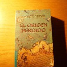 Libros de segunda mano: LIBRO EL ORIGEN PERDIDO (MATILDE ASENSI) BOOKET. Lote 24100344