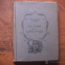 Libros de segunda mano: EL CASO DE LA LATA VACIA, ERLE STANLEY GARDNER, PLANETA, 1953. Lote 40474365