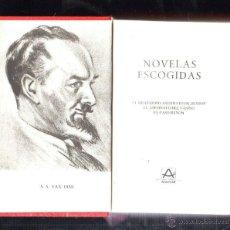 Libros de segunda mano: NOVELAS ESCOGIDAS. S.S. VAN DINE. AGUILAR. EDICION MEXICANA. 1980. LEER. Lote 40691188
