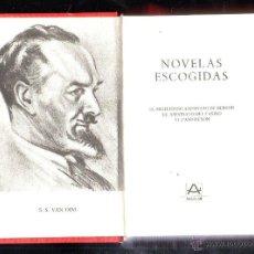 Libros de segunda mano: NOVELAS ESCOGIDAS. S.S. VAN DINE. AGUILAR. EDICION MEXICANA. 1980. LEER. Lote 40691243