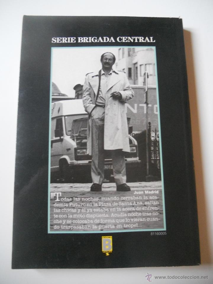 Libros de segunda mano: Juan Madrid - Asuntos de Rutina - Serie Brigada Central - 1989 - Foto 2 - 41076787