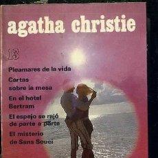 Libros de segunda mano: AGATHA CHRISTIE : CINCO NOVELAS ( AGUILAR, 1974). Lote 41230877