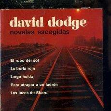 Libros de segunda mano: DAVID DODGE : CINCO NOVELAS ( AGUILAR, 1962). Lote 41230886