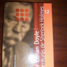 Libros de segunda mano: LAS AVENTURAS DE SHERLOCK HOLMES, POR A. CONAN DOYLE - CLARIN - ARGENTINA - 2000. Lote 41562286