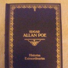 Libros de segunda mano: HISTORIAS EXTRAORDINARIAS.- EDGAR ALLAN POE, TAPA DURA. Lote 41735684