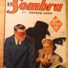 Libros de segunda mano: LA AMENAZA ROJA - LA SOMBRA - MAXWELL GRANT – 1936. Lote 41755302