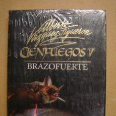 Libros de segunda mano: BRAZOFUERTE (CIENFUEGOS V) - ALBERTO VÁZQUEZ-FIGUEROA. Lote 41772545