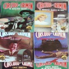 Libros de segunda mano: NOVELA 17 TOMOS CIRCULO DEL CRIMEN FORUM 1-2-3-5-7-12-14-17-18-19-22-23-25-26-27-28-29 NUEVO-1983. Lote 26808690