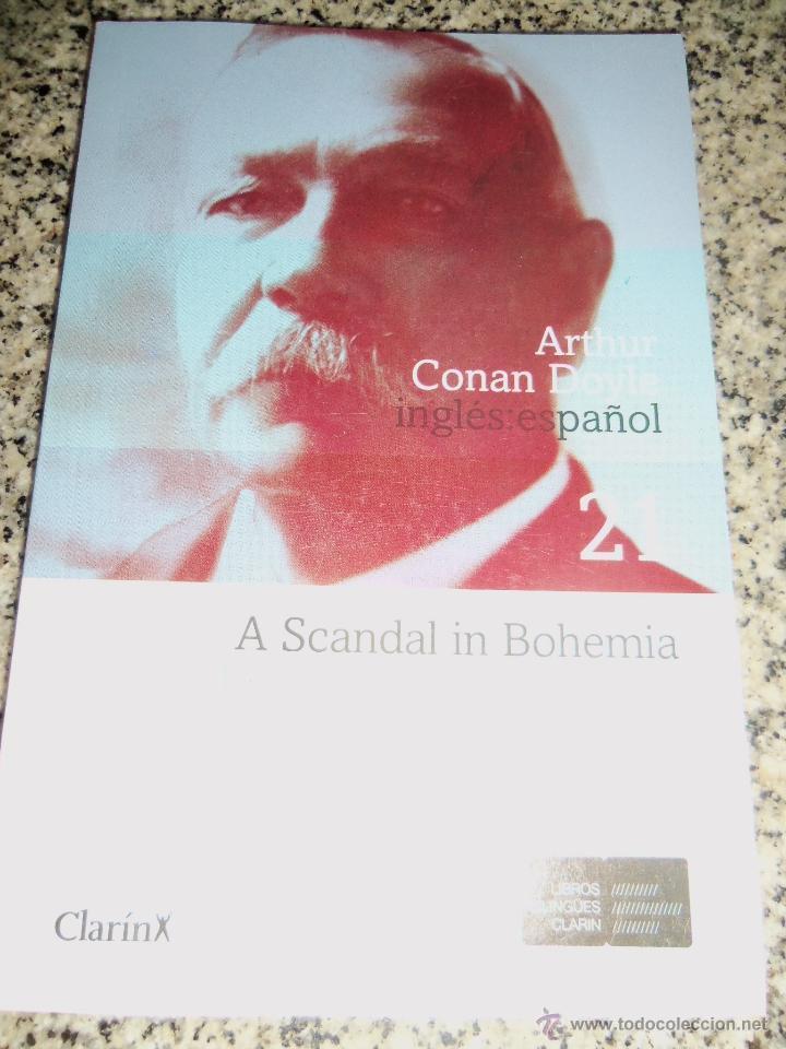 ESCANDALO EN BOHEMIA, POR ARTHUR CONAN DOYLE - CLARIN - (BILINGÜE) ARGENTINA - 2008 - NUEVO (Libros de segunda mano (posteriores a 1936) - Literatura - Narrativa - Terror, Misterio y Policíaco)
