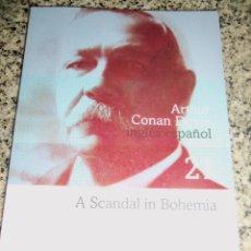 Libros de segunda mano: ESCANDALO EN BOHEMIA, POR ARTHUR CONAN DOYLE - CLARIN - (BILINGÜE) ARGENTINA - 2008 - NUEVO. Lote 42089262