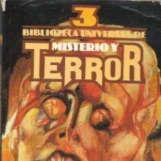 Libros de segunda mano: 1 LIBRO - AÑO 1981 - BIBLIOTECA UNIVERSAL DE MISTERIO Y TERROR. Nº 3. UVE. Lote 42209855