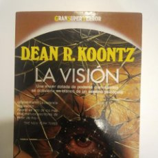 Libros de segunda mano: TERROR MARTINEZ ROCA GRAN SUPER TERROR LA VISION KOONTZ. Lote 42570191
