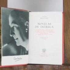 Libros de segunda mano: D-441. EDGAR WALLACE NOVELAS DE INTRIGA. EDIT. AGUILAR. 1961. . Lote 43289722