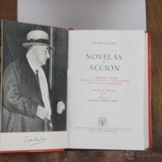 Libros de segunda mano: D-442. EDGAR WALLACE NOVELAS DE ACCION. EDIT. AGUILAR. 1963. . Lote 43289865