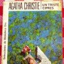 Libros de segunda mano: LIBRO DE BOLSILLO AGATHA CHRISTIE UN TRISTE CIPRES. Lote 43304592