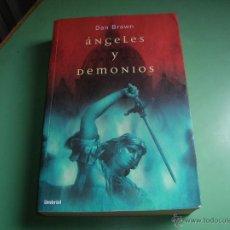 Libros de segunda mano: LIBRO ÁNGELES Y DEMONIOS. Lote 43501142
