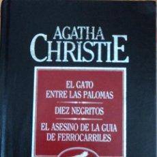 Libros de segunda mano: AGATHA CHRISTIE / GRANDES MAESTROS DEL CRIMEN Y MISTERIOR Nº 1 - ORBIS OBRAS COMPLETAS. Lote 43653523