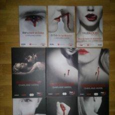 Libros de segunda mano: TRUE BLOOD COLECCIÓN SOOKIE STACKHOUSE LIBROS 1 A 9 (CHARLAINE HARRIS) SERIE TV. Lote 43699021