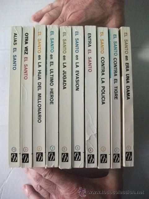 Libros de segunda mano: EL SANTO – LESLIE CHARTERIS – COLECCIÓN COMPLETA – DEL 1 AL 10 - BRUGUERA - Foto 2 - 43860863
