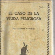 Libros de segunda mano: EL CASO DE LA VIUDA PELIGROSA. EL CANARIO COJO. EL RETRATO FALSO. E. S. GARDNER. ED. MOLINO. 1945. . Lote 43930129