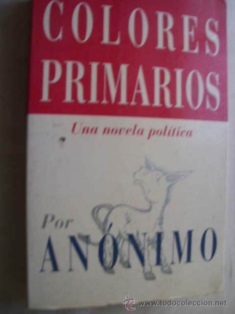 colores primarios. 1996 - Comprar Libros de terror, misterio y ...