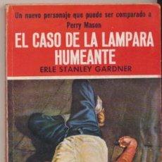 Libros de segunda mano: COLECCIÓN EL BUHO Nº 31. EL CASO DE LA LAMPARA LLAMEANTE. E.S. GARDNER CLIPER 1958.. Lote 44405469