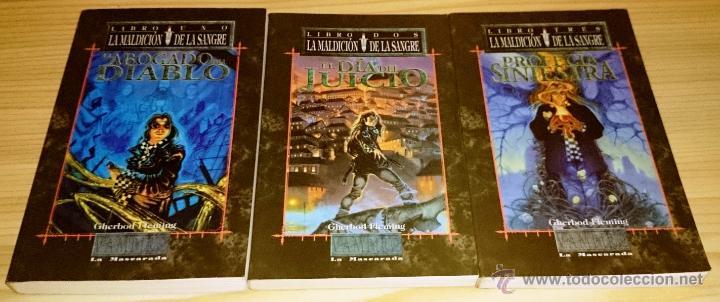Libros de segunda mano: Colección completa de novelas Vampiro la Mascarada - Mundo de Tinieblas - 84 Libros - Foto 3 - 44620711