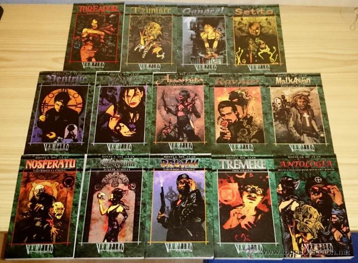 Libros de segunda mano: Colección completa de novelas Vampiro la Mascarada - Mundo de Tinieblas - 84 Libros - Foto 4 - 44620711