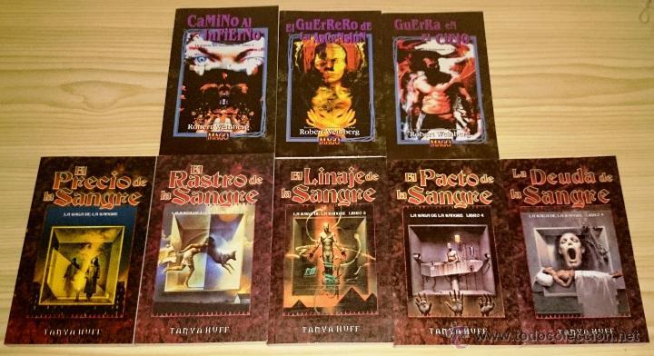 Libros de segunda mano: Colección completa de novelas Vampiro la Mascarada - Mundo de Tinieblas - 84 Libros - Foto 5 - 44620711