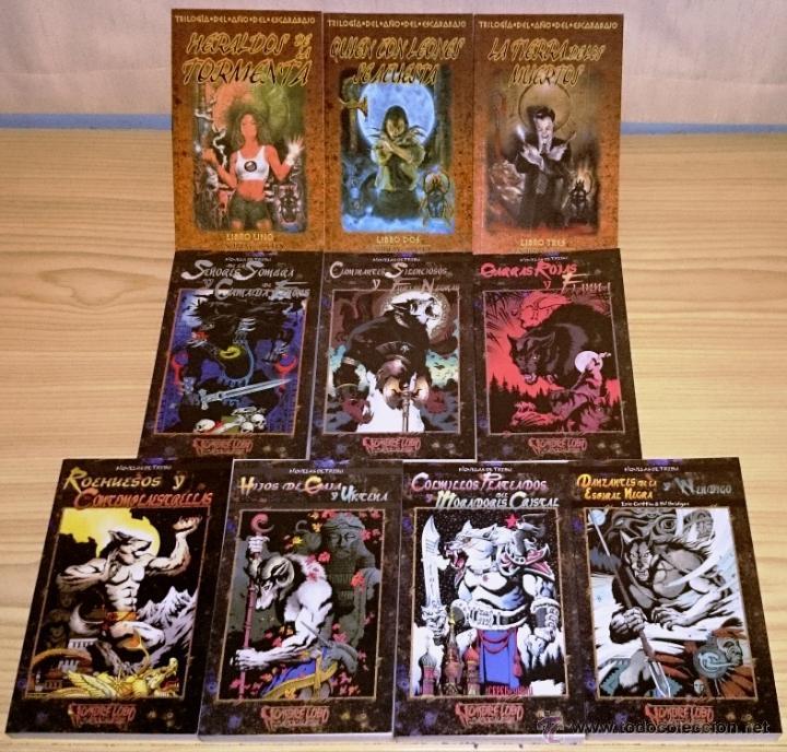 Libros de segunda mano: Colección completa de novelas Vampiro la Mascarada - Mundo de Tinieblas - 84 Libros - Foto 6 - 44620711